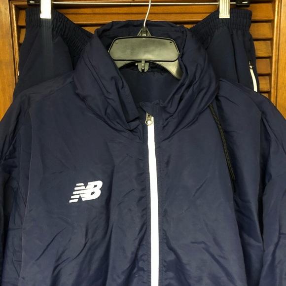 Mens New Balance Track Suit, Blue, 2XL, NWOT